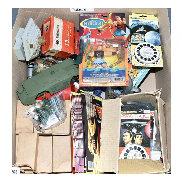 QTY inc Toys and collectables: ITC