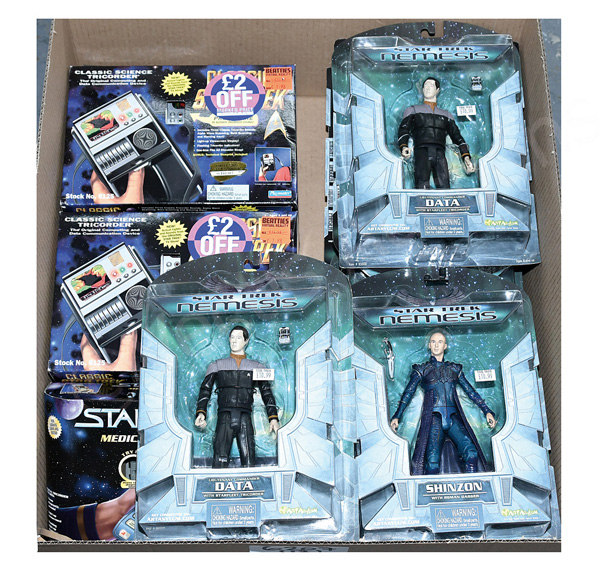 GRP inc Star Trek action figures