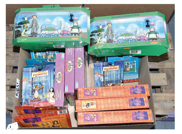GRP inc Disney and other toys Mattel Pocahontas
