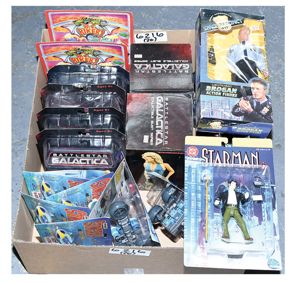 GRP inc Action figures: (1) - (2) Ideal BC