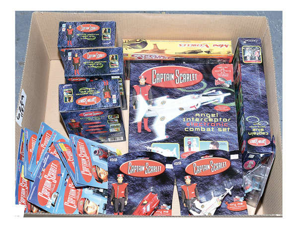 GRP inc Gerry Anderson's toys (1) - (9) Vivid
