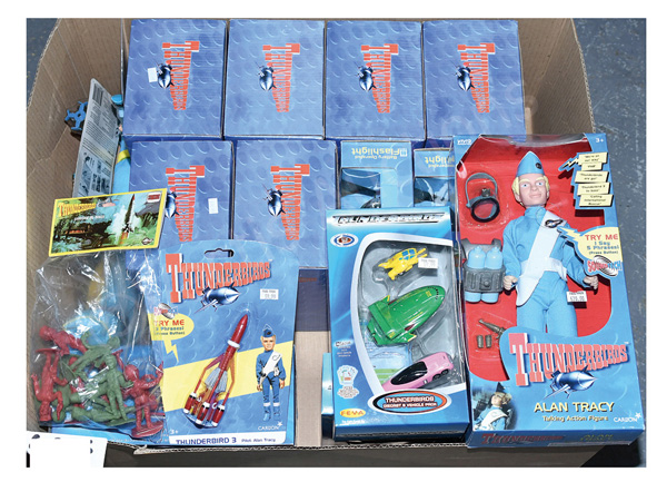 GRP inc Gerry Anderson's toys: (1) Carlton