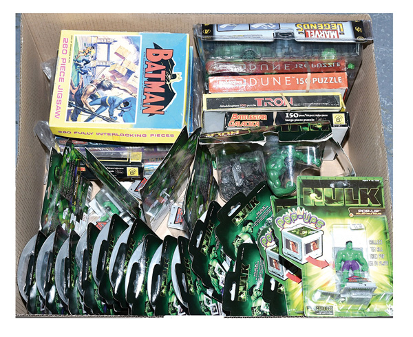 GRP inc Film related toys: (1) - (13) Marvel