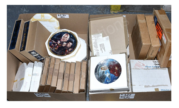 GRP inc Collectable porcelain plates, Hamilton