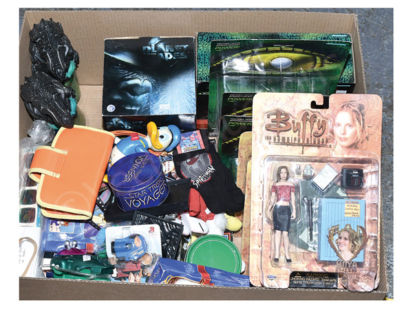 QTY inc Action figures and TV & Film related