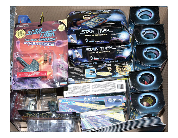GRP inc Star Trek collectables: (1) - (5)