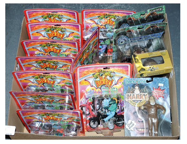 GRP inc Action figures and other toys