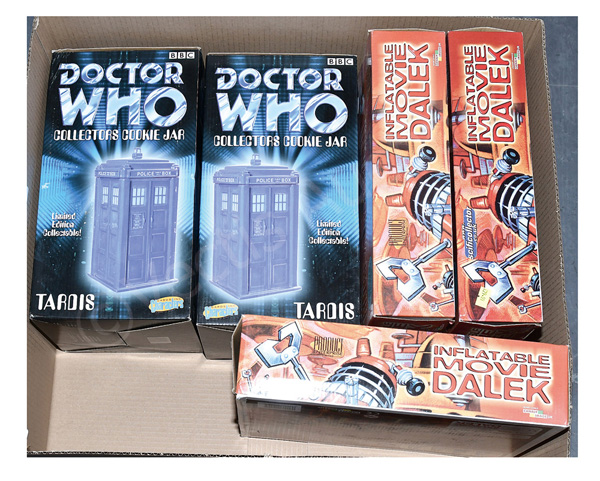 GRP inc Doctor Who collectables: (1) & (2) Cards