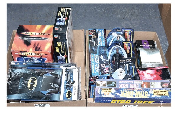 GRP inc TV & film related toys and collectables