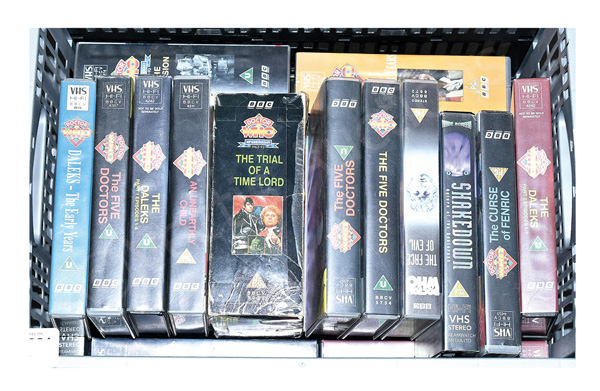 GRP inc BBC Doctor Who VHS videos