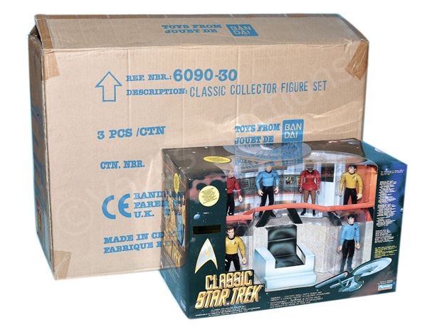 GRP inc Playmates Classic Star Trek Collector's
