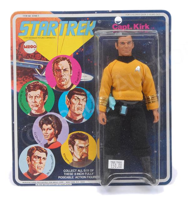 Mego Star Trek Kirk vintage 6