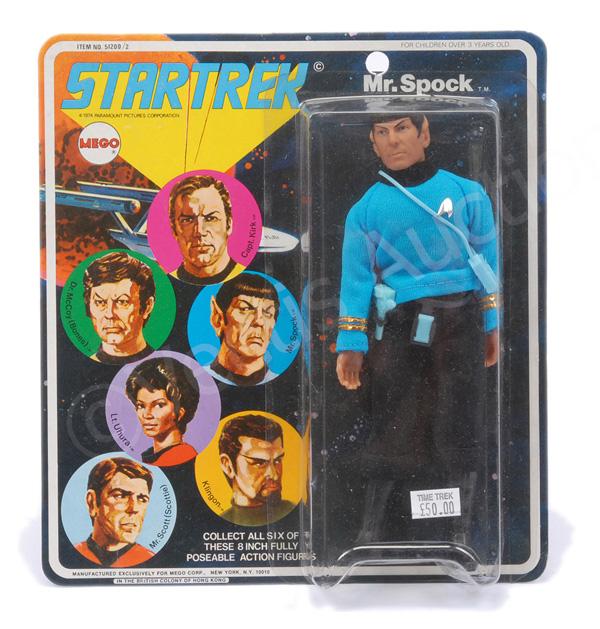Mego Star Trek Spock vintage 6
