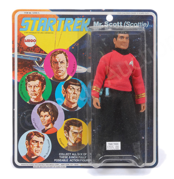 Mego Star Trek Mr Scot (Scottie) vintage 6