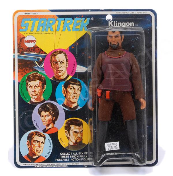 Mego Star Trek Klingon vintage 6