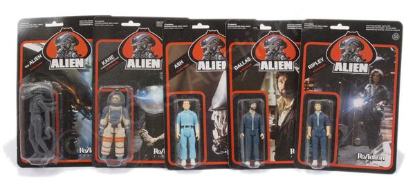 GRP inc Funko Re Action set of five Alien 4