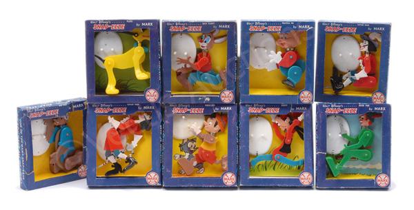 GRP inc Marx Walt Disney's Snap-eeze figures
