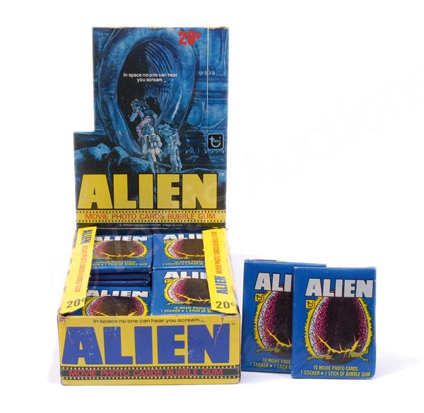 Topps Alien Movie Photo Cards Bubble Gum shop
