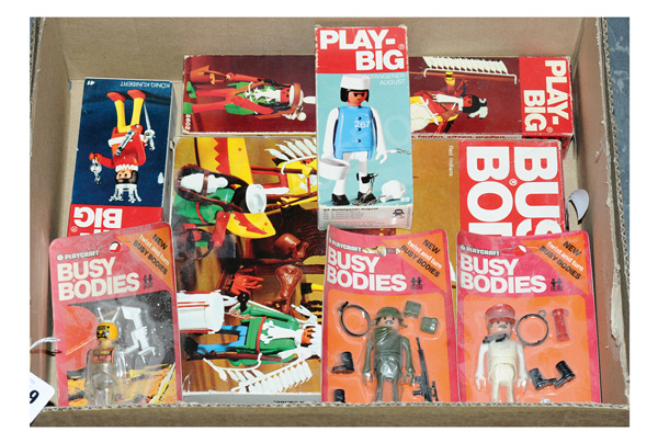 GRP inc Playcraft Busy Bodies: (1) Red Indians