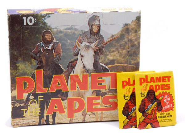 GRP inc Topps Planet of the Apes 1975 TV/Movie