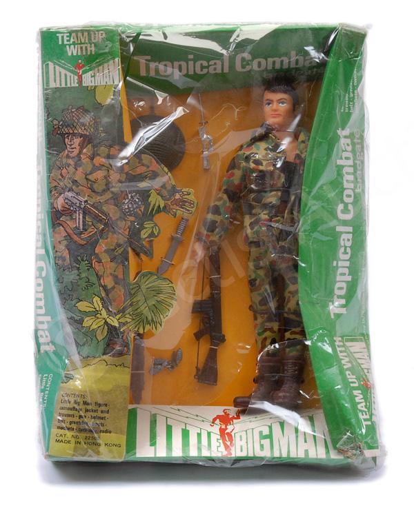 Bradgate Little Big Man Tropical Combat figure