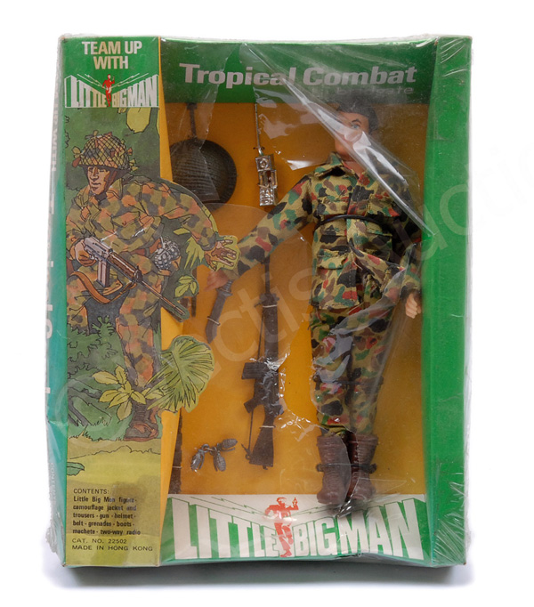 Bradgate Little Big Man Tropical Combat figure