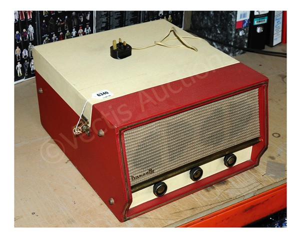 Dansette Conquest Auto record player, finished