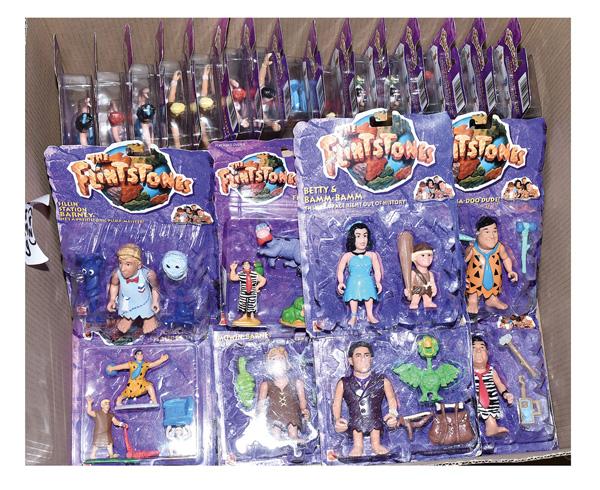 GRP inc Mattel The Flintstones action figure