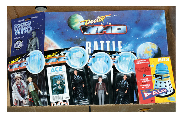 GRP inc Doctor Who Toys and collectables