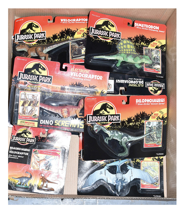 GRP inc Kenner Jurassic Park: (1) Electronic