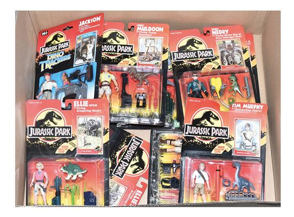 GRP inc Kenner Jurassic Park figures