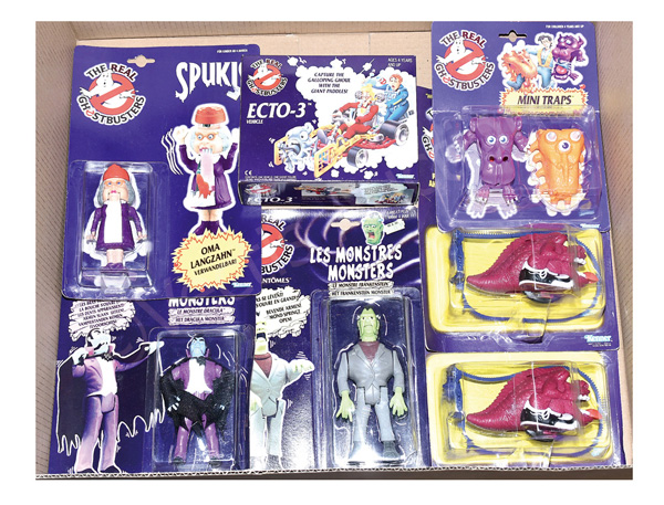 GRP inc Kenner The Real Ghostbusters