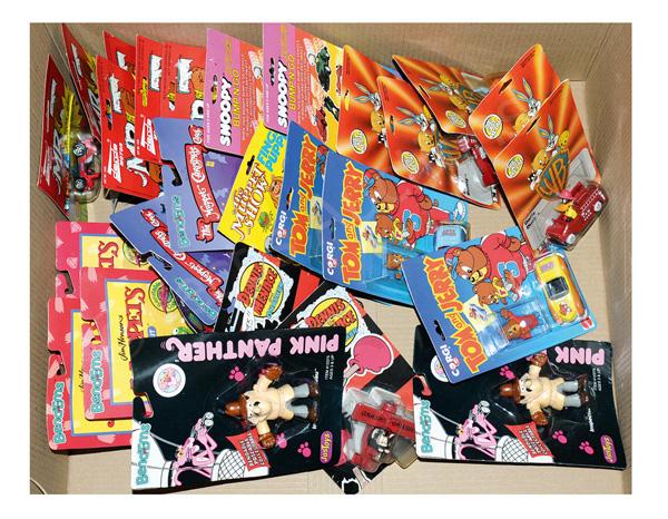 GRP inc TV & film related toys: (1) - (6) Darda