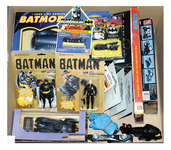 GRP inc Batman toys and collectables