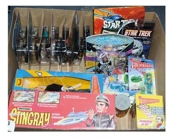 GRP inc Star Trek and Gerry Anderson's Stingray