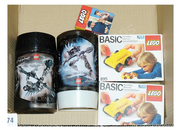 GRP inc Lego toys: (1) & (2) Bionicle Rahkshi