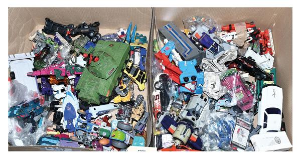 QTY inc Vintage Transformers, large quantity