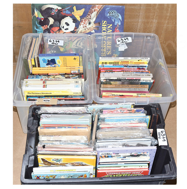QTY inc Large quantity of annuals and children's