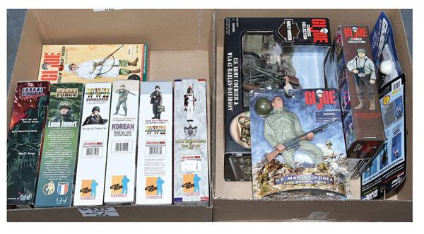 GRP inc Action figures: (1) Hasbro GI Joe