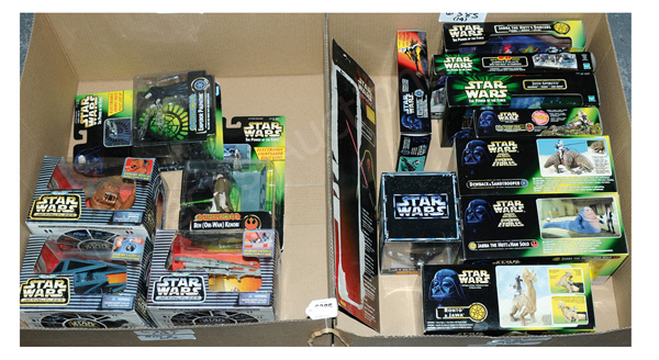 GRP inc Hasbro/Kenner Star Wars Toys: Power