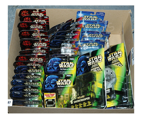GRP inc Kenner/Hasbro Star Wars x thirty-seven