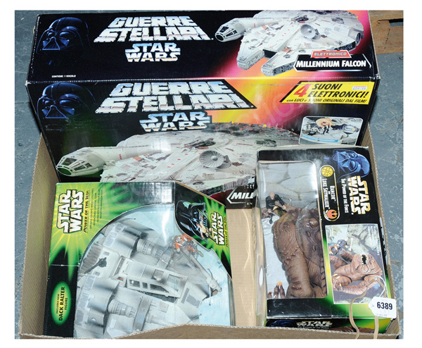 GRP inc Kenner/Hasbro Star Wars Power
