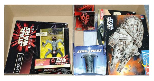 GRP inc Kenner/Hasbro Star Wars toys: (1) Heroes