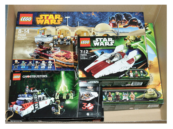 GRP inc Lego Star Wars and Ghostbusters