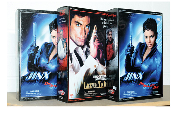 GRP inc Sideshow James Bond figures: Licence