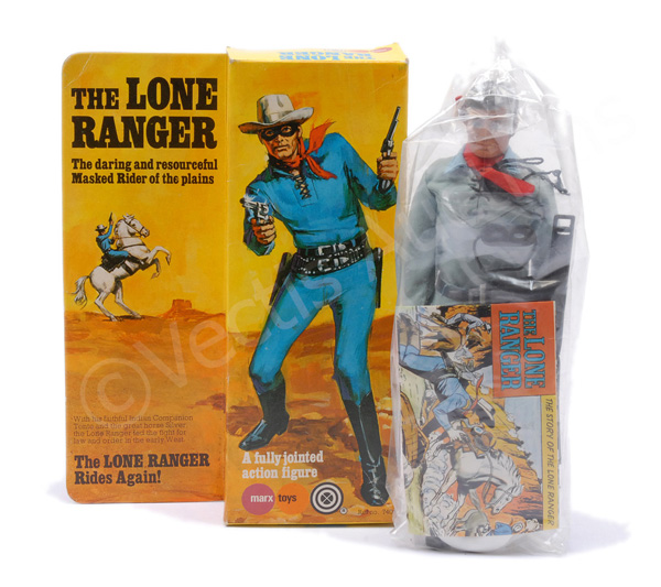 Marx Toys The Lone Ranger, Mint, sealed within