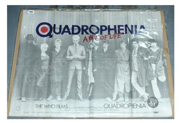 Quadrophenia (1979) Film Poster. Phil Daniels
