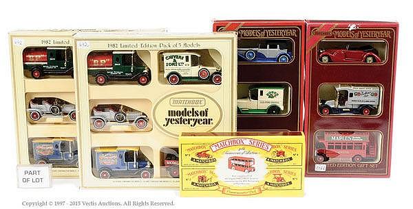 GRP inc Matchbox Models of Yesteryear 1980s