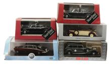 GRP inc  1/43rd scale State Limousines and other