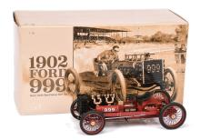Exoto 1/18th scale 1902 Ford 999 Racing Car